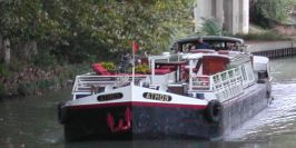 Barge Athos on the Canal du Midi October 2004