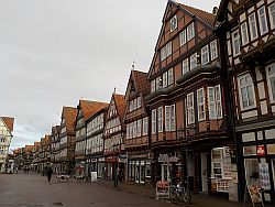 The Altstadt in Celle