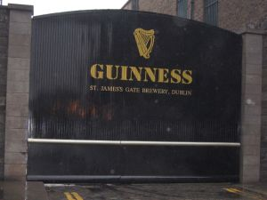 The Guinness Brewery at St. James Gate