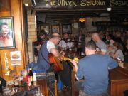 Irish Band in the Oliver St. John