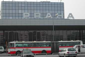 The Airport in Prague