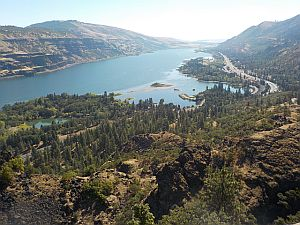 View from Rowena Point