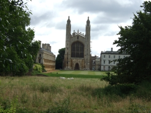 Kings College at Cambridge
