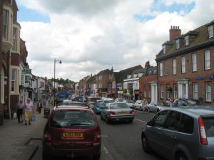 High Street in Newmarket