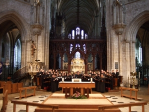 The St. Paul's Choir in the Ely Cathedral