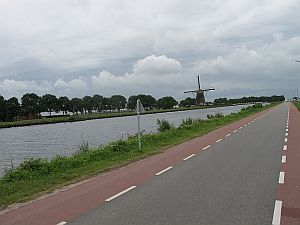 riding to Delft