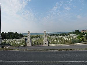 The French WW1 Cemetary at Sillery