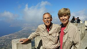 Erice at 2400 feet above the Mediterranean