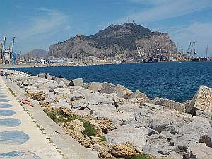 The port at Palermo