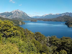 the lake district at Bariloche